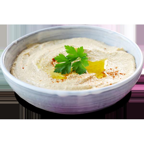 Alt text: Garlic Beet Hummus